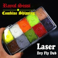 10colors Set New Developed Dry Fly Dubbing Plus UV Ice Dub With Luxury Dispensor 2 5D