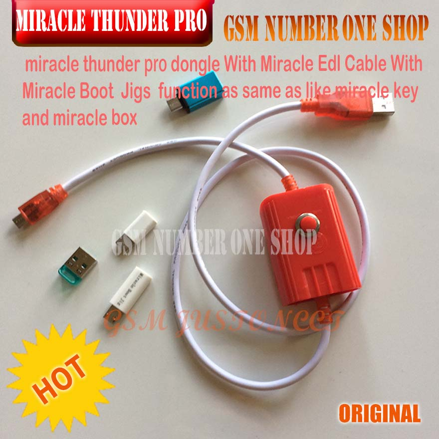 Detail Feedback Questions about Miracle Box / Miracle