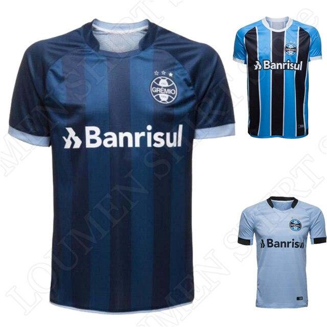 f9edb06e0d 2017 2018 Homens Gremio Camisetas Mens Camisas Casuais 17 18 Gremio Adulto  Encabeça Boa Qualidade Casa