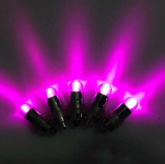 (20 шт./упак.) цвет мигающий светодиод шар света погружной Waterpoof пепельница Освещени ...
