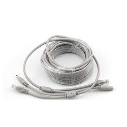 20 m RJ45 + zasilania prądem stałym 12 V Lan kabel kable sieciowe do CCTV kamera sieciowa IP