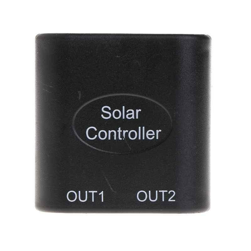 5V 2A + 9V DC ソーラーパネル電源銀行の Usb 充電電圧コントローラレギュレータ