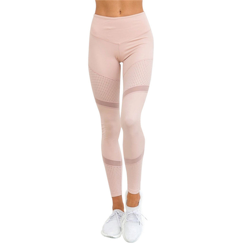 CHRLEISURE Sexy High Waia Mesh Leggings Women Fitness Push Up legging Trousers Feamle Workout Leggings Bodybuding Clothing Karachi