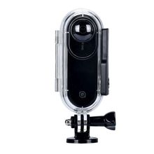 Waterproof Case Compatible insta360 ONE Cameras, Underwater Diving Protective Housing Shell 40M with Bracket Accessories