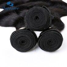 Sapphire Hair Brazilian Remy Hair Body Wave 3Bundle 100% Human Hair Weaving Bundles For Salon Longest Hair PCT 15% Natural Color