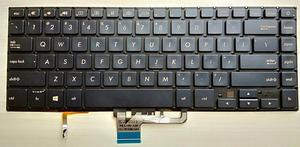 Novo para Asus Pro UX550 UX550VE UX550VD laptop teclado retroiluminado EUA 0KNB0-4624US00 NSK-WK1BU