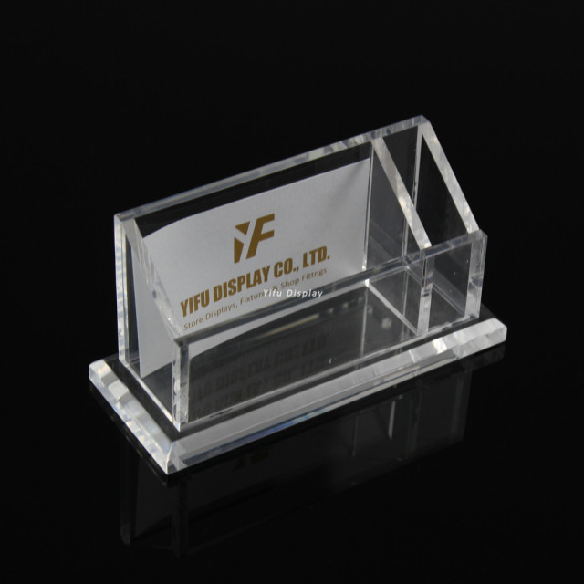 Free shipping acrylic business card display clear acrylic business free shipping acrylic business card display clear acrylic business name card holder stand with pen stand reheart Gallery