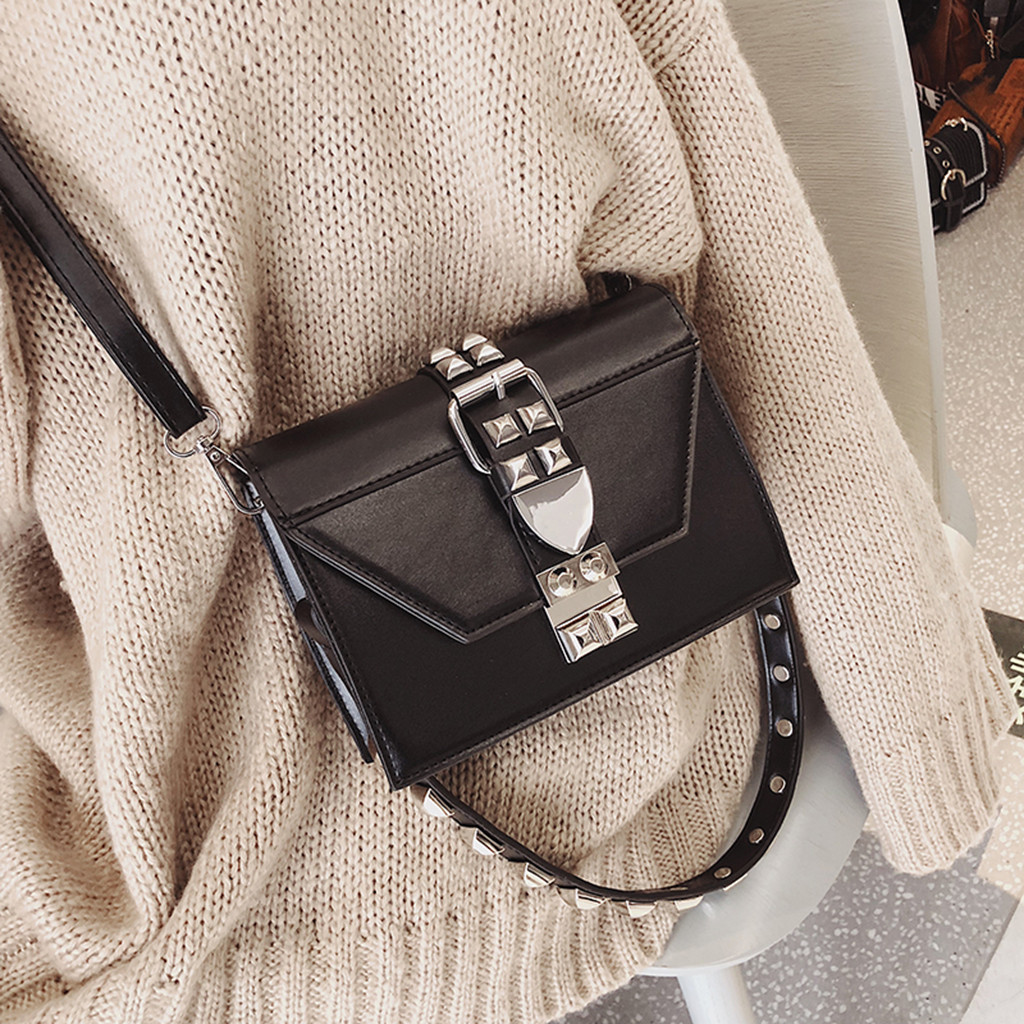 Luxury Handbags PU Leather Shoulder Bag Small Flap Crossbody Bags For Women Messenger Female Bags Clutch