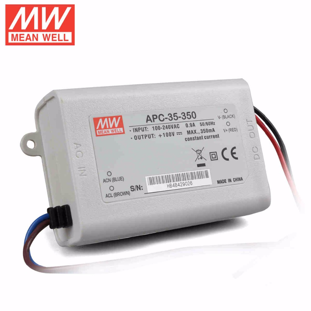 Aliexpress Com Buy Mean Well Apc 35 350 35w 28 100v