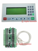 display screen HIM MD204L OP320 A +FX1N plate PLC 64MR or 64MT 32input 32 output RS485 modbus communication