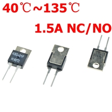 40 50 60 70 80 90 100 DegC NC Normally Closed NO Normally Open 1.5A Thermal Switch Temperature Sensor Thermostat KSD 01F JUC 31F