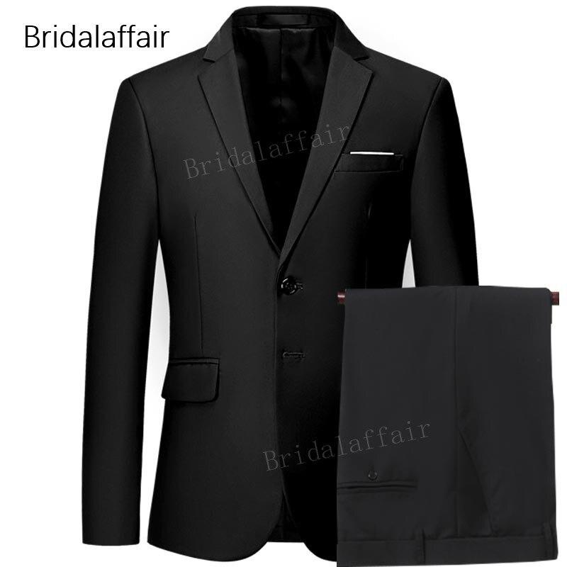 Prom Set Esmoquin Hombre Cielo Delgado Hombres Unidades Wedding rojo azul  chaqueta Dress Formal amarillo Negro ... adcba6c72f7