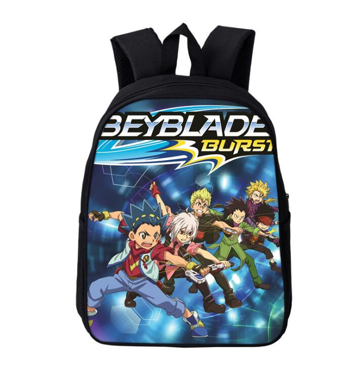 Fashion Beyblade Burst Game Print Teenager Backpacks 3D Anime Student School Rucksack Teenager Backpacks Softback