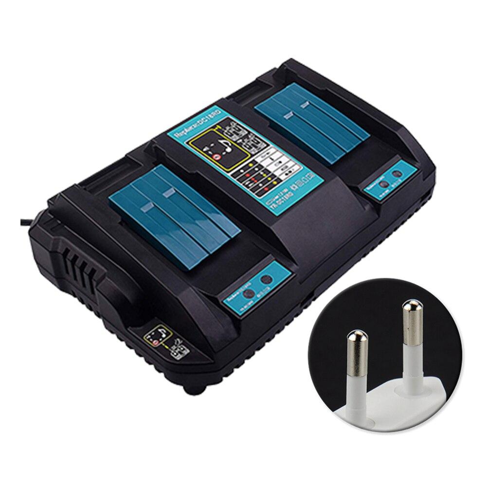 14.4 V 18 V accessoire de véhicule outil électrique Protection de Circuit Durable chargeur de batterie Li-ion double Port Auto rapide pour Makita DC18RD