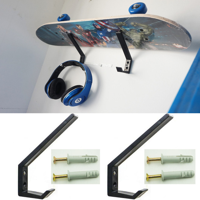 2pcs Lot Ski Snowboard Skateboard Wakeboard Sport Storage Display