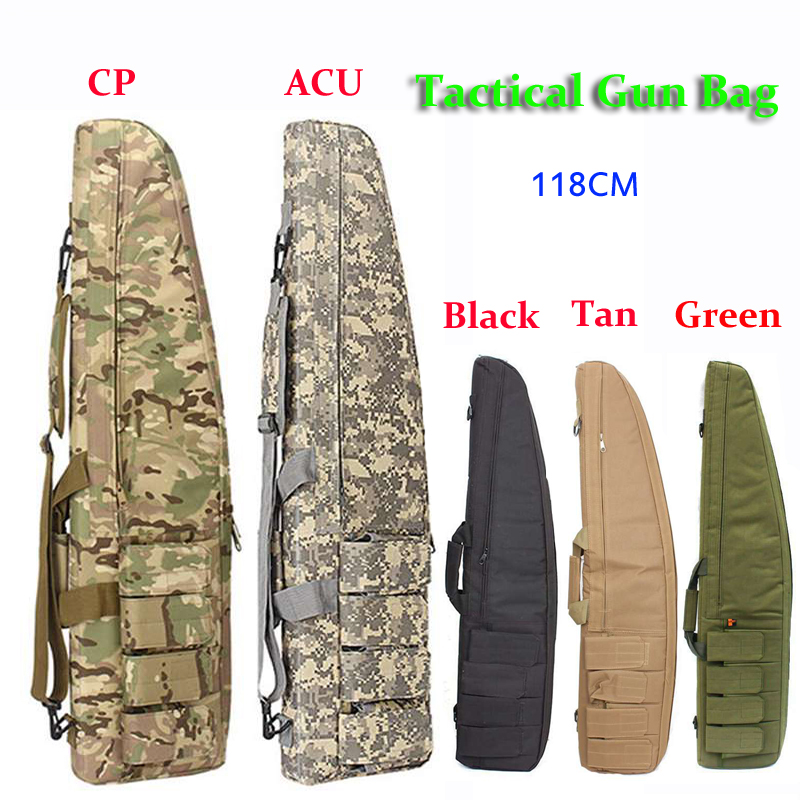 Tactical Gun Bag 118CM Outdoor Military Carry Sport Bags Protection Case Airsoft Shooting Hunting Gun Rifle Accessories Backpack my days reed camouflage car gun case bag outdoor suv seat back gun rack multi pockets truck gun sling hunting car carrier