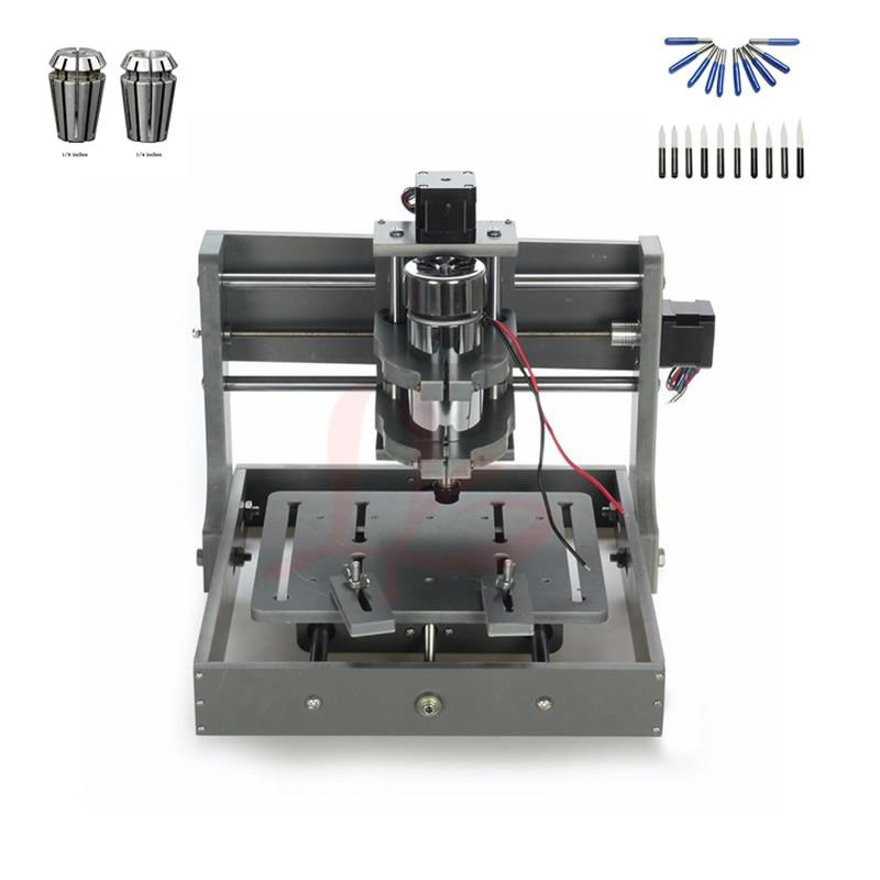 DIY mini cnc machine 2020 with free cutter and colletDIY mini cnc machine 2020 with free cutter and collet