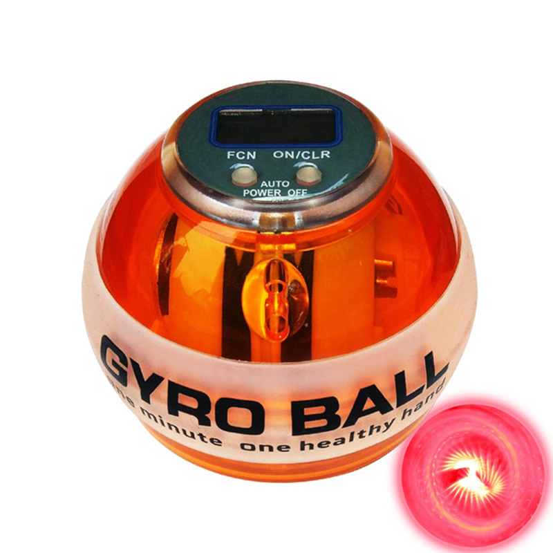 Force Gyroscope Ball Dual Gyroscope Wrist Arm Muscle Force Power Exercise Strengthen Ball Trainer Hand Grips Fitness Equipment S image