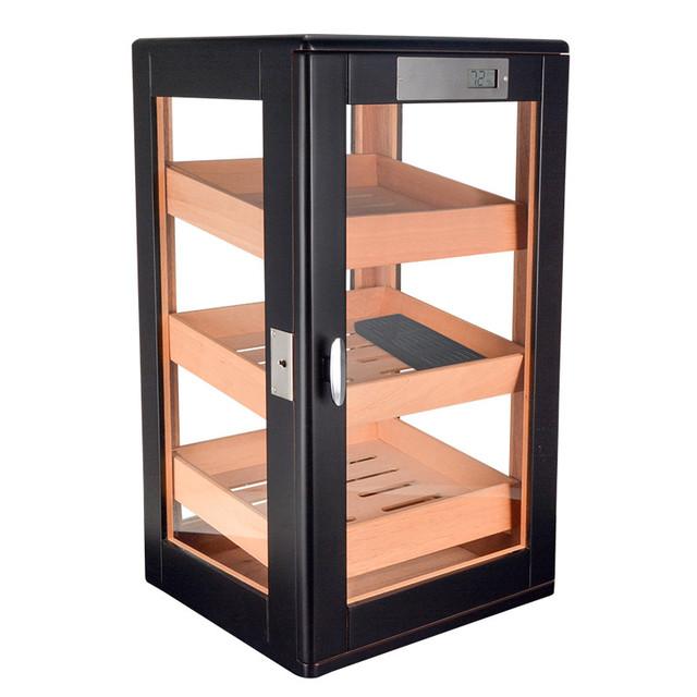 Cigar box  humid and moisture box cigar display.