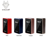 Original SNOWWOLF 200W C TC Box MOD with Upgraded Chipset Max 235W Output No 18650 Battery SNOWWOLF 200W C E cig Vape Box Mod