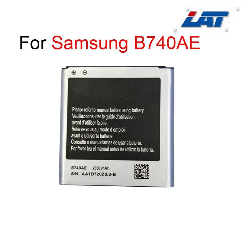 B740ae 2330 mah batterie 100% batterie d'origine pour samsung c1010 galaxy s4 zoom c101 batterie de remplacement