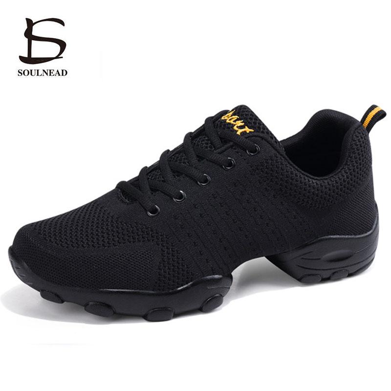 Jazz Dance Shoes Men Mesh Breathable