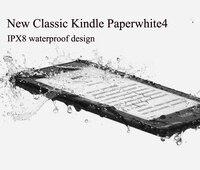 Новый Kindle Paperwhite 4 водостойкий 8 Гб Kindle Paperwhite4 300 ppi электронная книга e ink экран wifi 6 свет беспроводной считывающее устройство Wi Fi