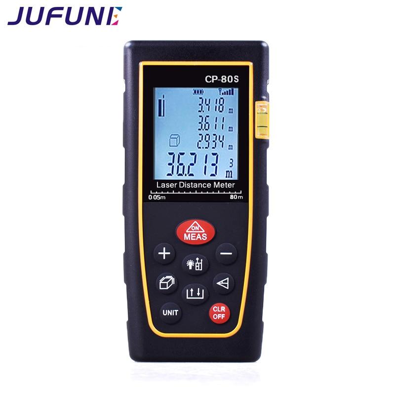 Misura del telemetro laser digitale Jufune CP-80S - Strumenti di misura - Fotografia 4
