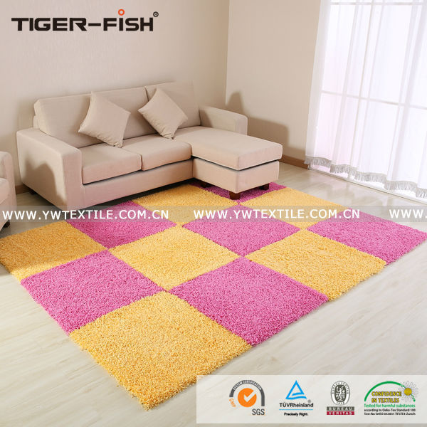 Home branded fashion red yellow large rugs and floor carpets bedroom ...