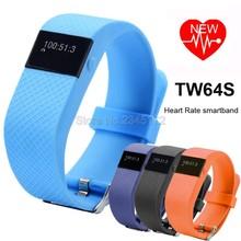 TW64S Heart Rate Monitor SmartBand Pulso Inteligente Banda Pulse Measure Smart Band Sport Smart Wristband Health Fitness Tracker