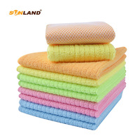 ff598f1b12a71 Sinland Microfiber Dish Cloth Kitchen Towel Cleaning Cloths With Poly Scour  Side 12