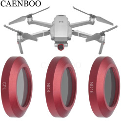 CAENBOO For DJI Mavic 2 Zoom Neutral Density ND8+16+CPL Polar Optical Glass Multi-Layer Coating Film Gimbal  Drone Filter 3in1