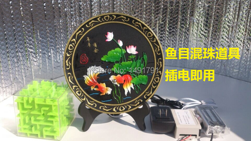 Real life escape room game prop fish eyes three for Real life fishing games