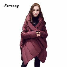 FANCEEY 2017 New Winter Collection Winter Women Coat Jacket Warm High Quality Woman Down Parka Winter Coat