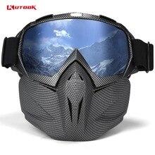 KUTOOK лыжные очки с случае снег очки двойные линзы очки сноуборд UV400Anti-fog ветрозащитный Лыжный спорт оборудования унисекс Лыжная маска