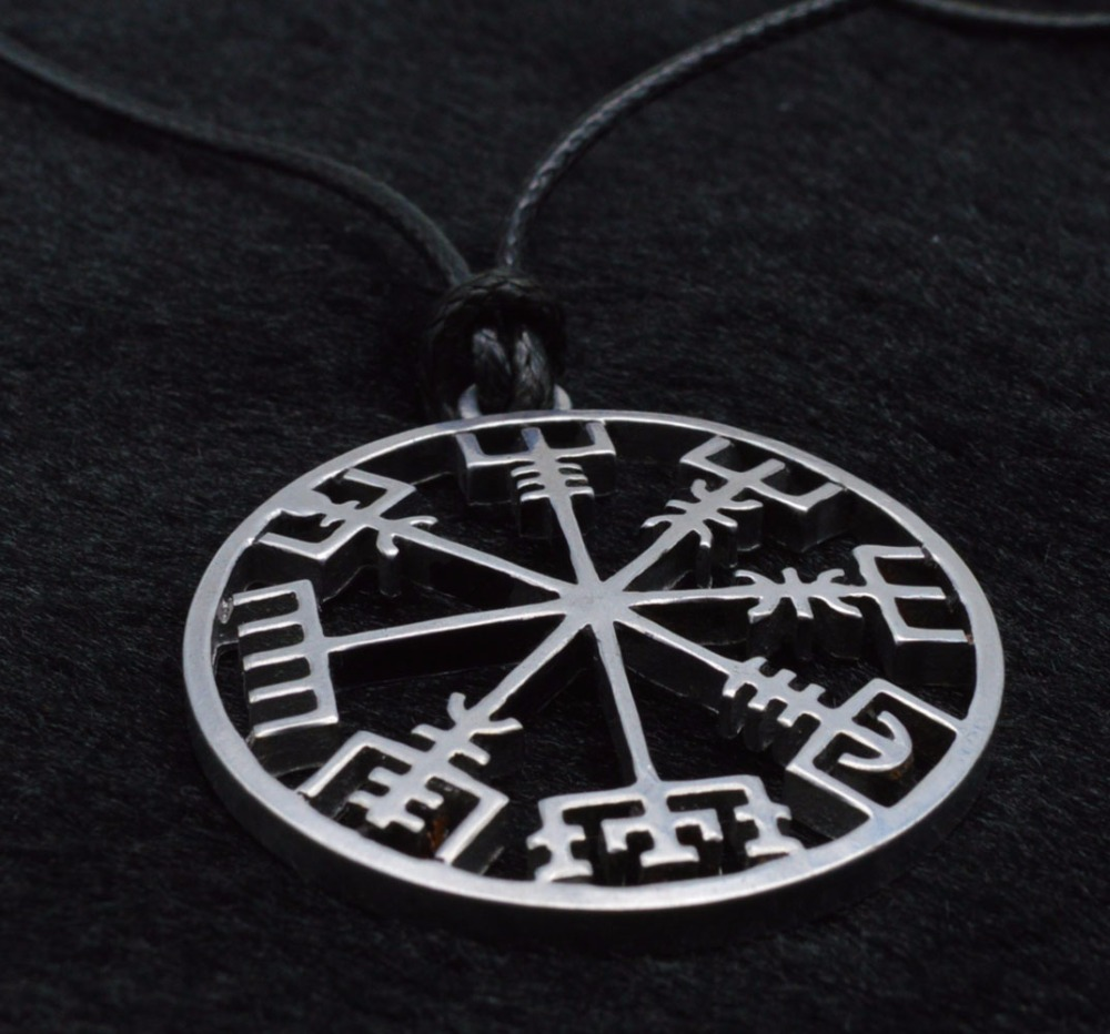 1 large 38mm norse viking helm of awe pendant necklace norde 1 large 38mm norse viking helm of awe pendant necklace norde vegvisir compass amulet pendant with 50cm leather cord in pendant necklaces from jewelry aloadofball Images