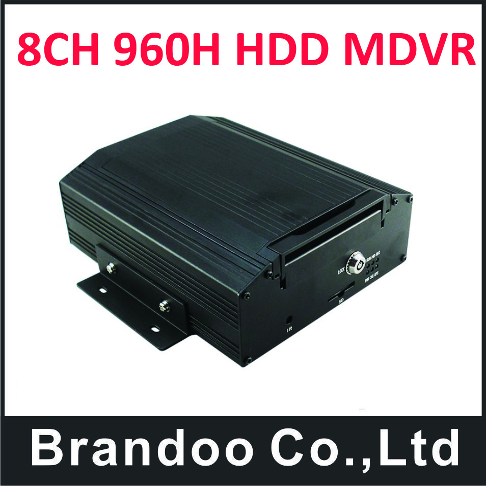 Car DVR with 8CH for truck used,free shipping BD-308