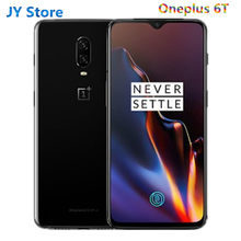 Globale Rom Neue Oneplus 6T 6t Snapdragon 845 Handy 4G LTE 6.41 ''NFC 3700mAh 20MP + 16MP Android 9,0 Ein Plus 6t telefon