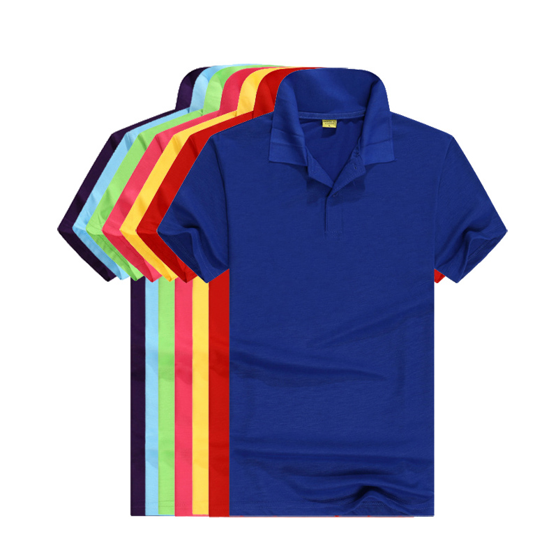 Hot sale 2018 Summer New style mens short sleeve   polos   shirts casual solid color mens lapel   polos   shirts fashion slim mens tops