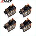 4x EMAX ES08MD Metal GEAR Digital Servo up sg90 ES08A ES08MA MG90S TREX 450 Free shipping