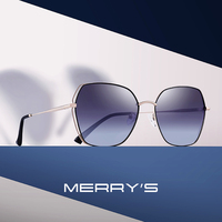 MERRYS DESIGN Women Square Polarized Sunglasses Luxury Ladies Fashion Trending Sun glasses UV400 Protection S6236 Women's Glasses