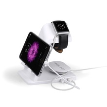 Portable Desktop multifunction USB Cradle Dock Charger Charging Station Stand Holder Mount For Apple iPhone iPad Watch