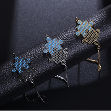 NJ Chic Two-color Puzzle Style  Design Women Bracelets & Bangle High Quality Gold Silver Chain Adjustable Copper Jewelry Gift