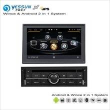 YESSUN для Mitsubishi L200/Strada/Тритон/Sportero/Hunter/воин-автомобиль Android радио CD, DVD плеер gps Navi навигации