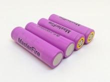 MasterFire 8PCS/LOT 100% Original Sanyo 3.7V 3000mAh 18650 Rechargeable Battery Cells UR18650ZTA Lithium Batteries For Torch