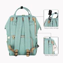 Sunveno Fashion Mummy Maternity Diaper Nappy Bag Large Baby Nursing Bag Travel Backpack Designer Stroller Bag Baby Care Unicorn
