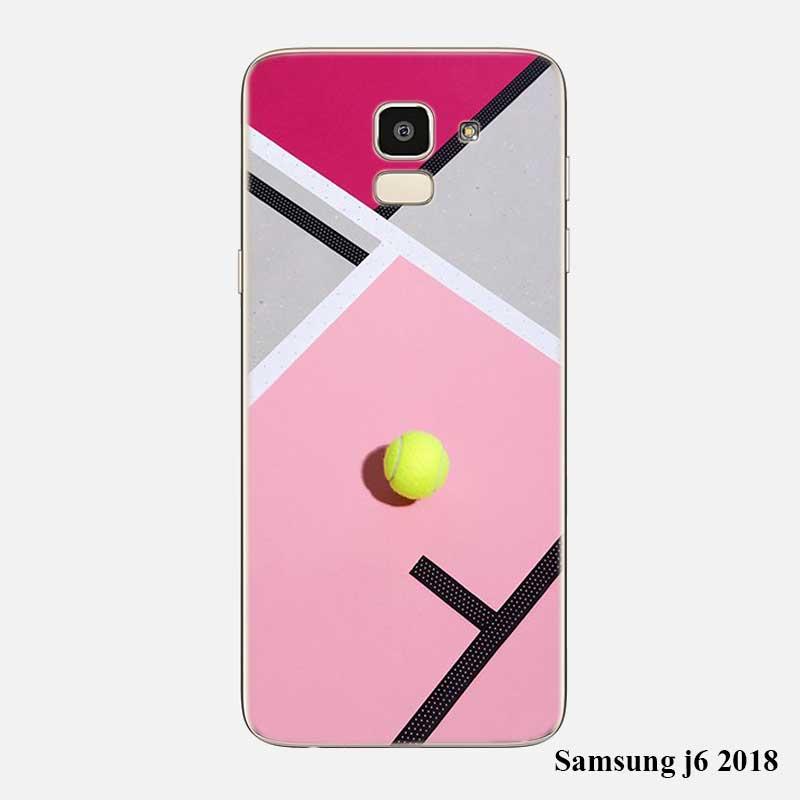 Transparent Soft Silicone Phone Case Tennis Ball Movement For Samsung Galaxy J8 J7 J6 J5 J4 J3 Plus 2018 2017 Prime 2016 Phone Bags & Cases