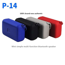 P14 Bluetooth speaker supports hands-free calling TF card FM radio