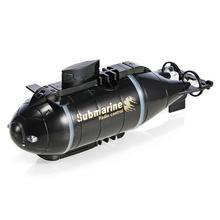 Mini submarino con Control remoto para niños, tanque de peces, barco submarino de juguete, juguetes para niños