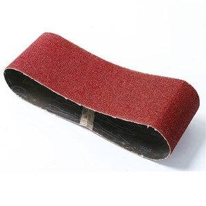 Image 3 - 10 pièces 76*457mm bandes abrasives abrasives 40 1000 bandes abrasives pour outils électriques de ponceuse